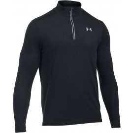 Under Armour THREADBORNE STREAKER 1/4 ZIP - Herren T-Funktionssweart