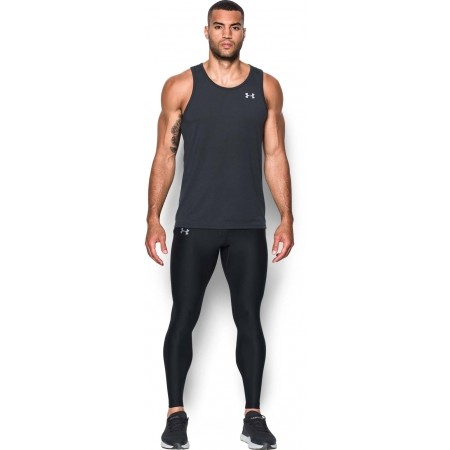 Kompressions-Laufleggings für Herren - Under Armour RUN TRUE HEATGEAR TIGHT - 4