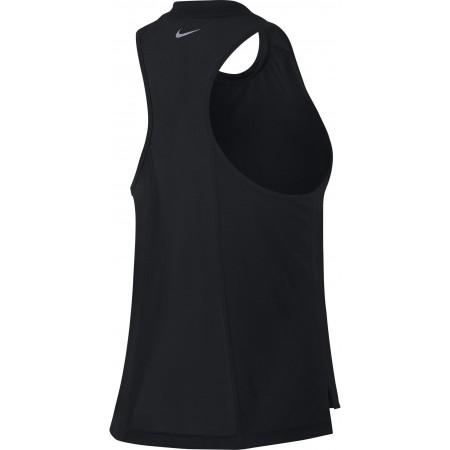 Damen T-Schirt ohne Ärmel - Nike MILER TANK W - 2