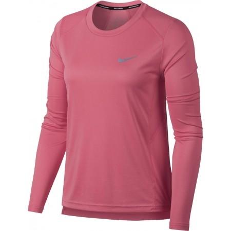 Damen Lauftop - Nike MILER TOP LS W - 1