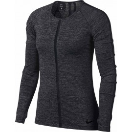 Nike HPRCL TOP LS HEATHER W - Damen Top
