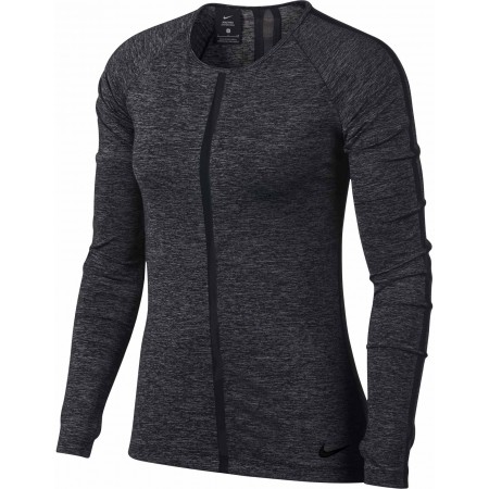 Damen Top - Nike HPRCL TOP LS HEATHER W - 1