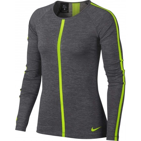 Damen Top - Nike HPRCL TOP LS HEATHER W - 3