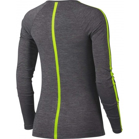 Damen Top - Nike HPRCL TOP LS HEATHER W - 4