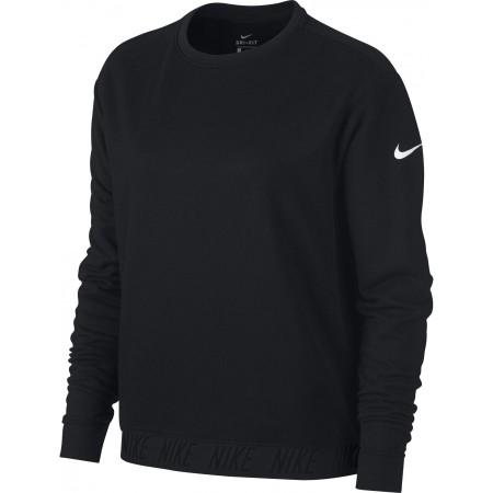 Damen Top für das Training - Nike DRY TOP LS CREWNECK W - 1