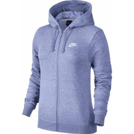 Damen Hoodie mit Kapuze - Nike HOODIE FZ FLC W - 1