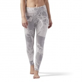 Reebok ELEMENTS LEGGING ABSTRACT BLOSSOM - Damen Leggings