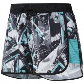 Reebok WOR PRINTED WOVEN SHORT - Damen Shorts