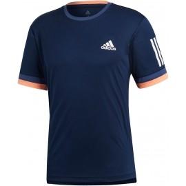 adidas CLUB 3 STRIPES TEE - Herren Tennisshirt