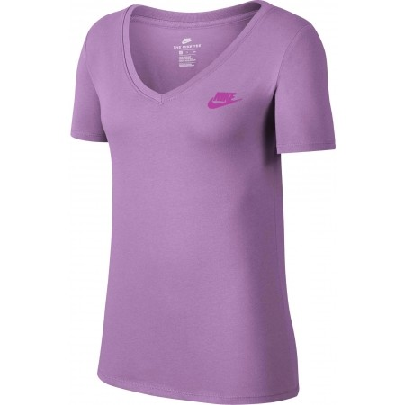 Damen T-Shirt - Nike TEE VNECK LBR W - 1