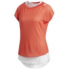 adidas TKO UV TEE W - Damen Laufshirt