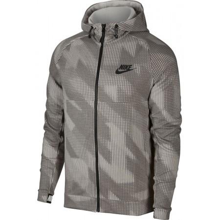 Herren Sweatshirt - Nike AV15 HOODIE FLC FZ AOP - 3