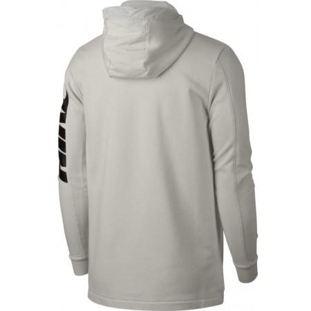 Herren Sweatshirt mit Kapuze - Nike HOODIE FT FZ HYBRID - 2