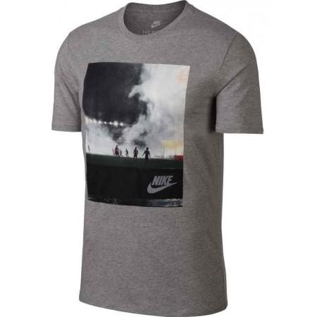 Herren T-Shirt - Nike TEE CNCPT BLUE 5 - 1