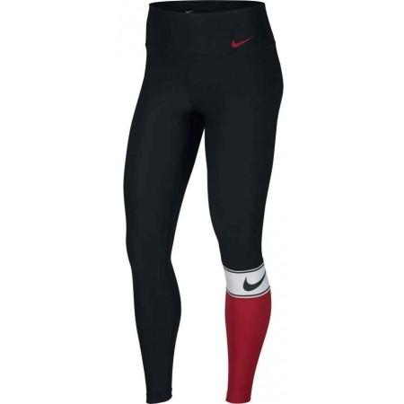 Damen Trainingsleggings - Nike TGHT PL CLRBLK SP18 W - 1