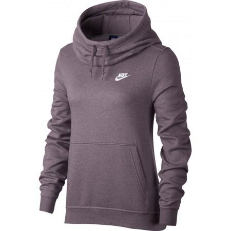 Damen Sweatshirt mit Kapuze - Nike FUNNEL NECK HOODIE W - 1