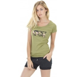 Picture BASEMENT PALM - Damen T-Shirt mit Druck