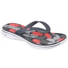 Skechers H2 GOGA LAGOON - Damen Flip Flops
