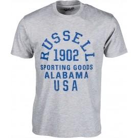 Russell Athletic S/S CREW ALABAMA TEE - Herren Trikot