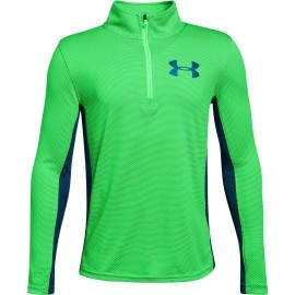 Under Armour TEXTURED TECH 1/4 ZIP - Jungen Funktionssweartshirt