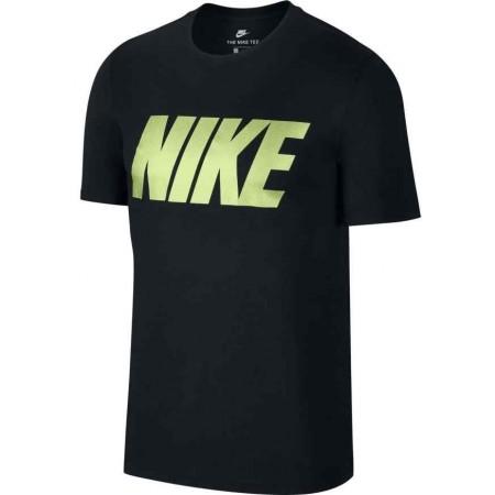 Herren T- Shirt - Nike TEE NIKE BLOCK - 1