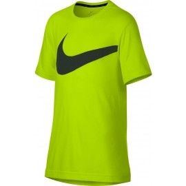Nike BREATHE TOP SS HYPER GFX - Trainingsshirt für Junioren