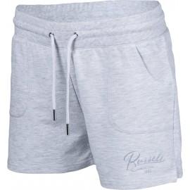 Russell Athletic SHORTS WITH TONAL SATIN SCRIPT TRANSFER PRINT - Damen Shorts