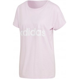 adidas ESSENTIALS LINEAR LOOSE TEE
