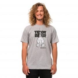Horsefeathers TEDDY BEER T-SHIRT - Herren T-Shirt