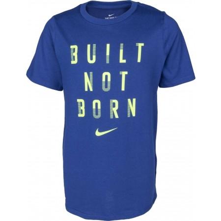Jungen Kompressionsshirt - Nike DRY TEE BUILT NOT BORN B - 1