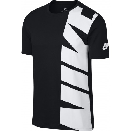 Herren T-Shirt - Nike SPORTSWEAR TEE HYBRID 1 - 3