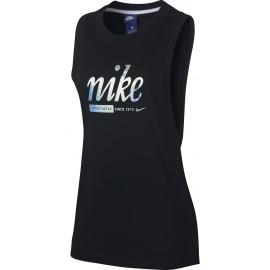 Nike SPORTSWEAR TANK  METALLIC - Damen Trainingstop