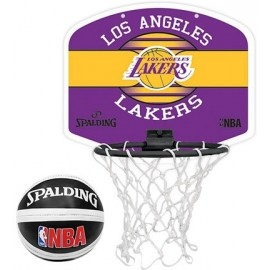 Spalding NBA MINIBOARD LA LAKERS - Baskettballkorb