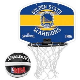Spalding NBA MINIBOARD GOLDEN STATE WARRIORS - Basketballkorb
