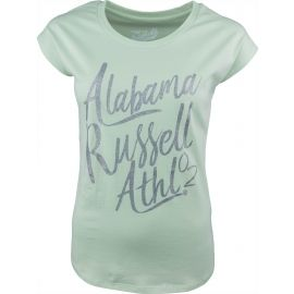 Russell Athletic S/S  LOGO GREEN TEE - Damen T-Shirt
