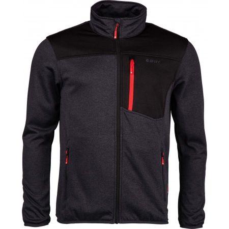 Herren Fleece-Sweatshirt - Hi-Tec GARMI - 1