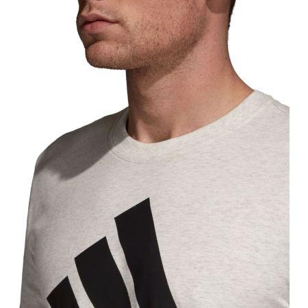 Herren T-Shirt - adidas M SID LOGO Tee - 6