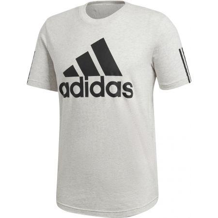 Herren T-Shirt - adidas M SID LOGO Tee - 1