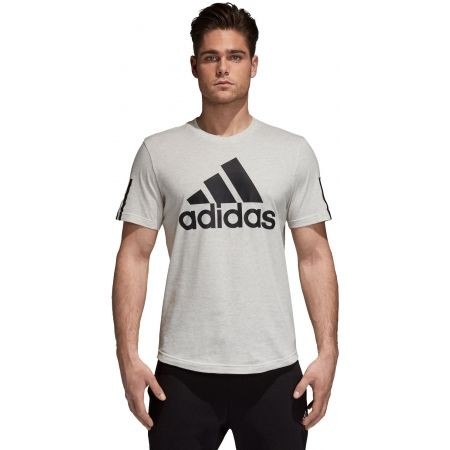 Herren T-Shirt - adidas M SID LOGO Tee - 2