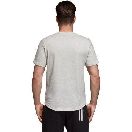 Herren T-Shirt - adidas M SID LOGO Tee - 4