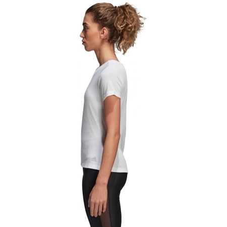Damen T-Shirt - adidas LOW BACK TEE - 3