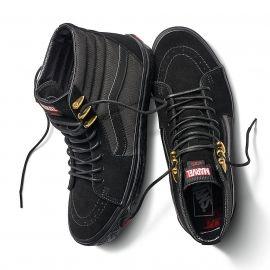 Vans UA SK8-HI MARVEL BLACK PANTHER - Herren Sneaker
