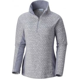 Columbia GLACIAL IV PRINT 1/2 ZIP - Damen Sweatshirt