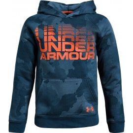 Under Armour RIVAL WORDMARK HODDY - Kinder Hoodie
