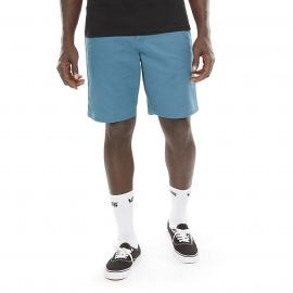 Vans MN AUTHENTIC STRETCH REAL TEAL - Herren Shorts