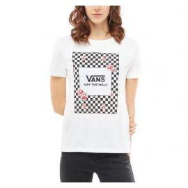 Vans WM BOXED ROSE CHECKS - Damen T-Shirt