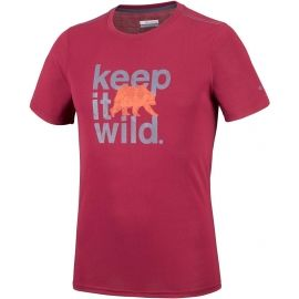 Columbia MILLER VALLEY SHORT SLEEVE TEE - Herren T- Shirt