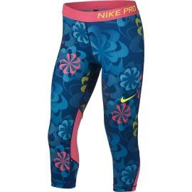 Nike NP CAPRI AOP1 - Mädchen Sport Leggings