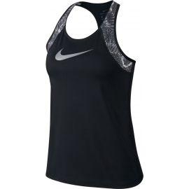 Nike W NP TANK PRT CHAIN FEATHER - Damen Tank Top