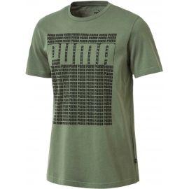 Puma WORDING TEE - Herren T- Shirt